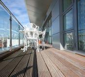 Het Balkon van de flat Stock Afbeelding