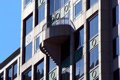 Het balkon van Deco royalty-vrije stock afbeelding