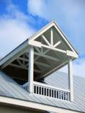 Het balkon van het dak Stock Afbeeldingen