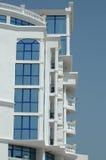 Het balkon van het hotel stock fotografie