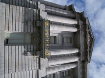 Stad Hall Balcony Royalty-vrije Stock Afbeelding