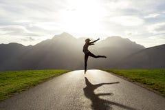 Het ballet is een manier van het leven Royalty-vrije Stock Afbeelding