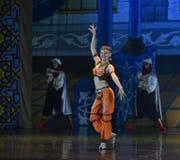 """Het ballet """"One Duizend Één Nights† van de meisjedans Stock Afbeeldingen"""