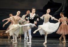 Het ballet van de prinsdans Stock Afbeelding