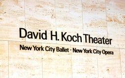 Het Ballet van de Stad van New York Royalty-vrije Stock Afbeeldingen