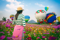Het ballonsfestival 2017 royalty-vrije stock afbeeldingen
