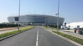Het Baltische Stadion van de Arena stock footage