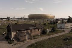 Het Baltische Stadion van de Arena Stock Foto's