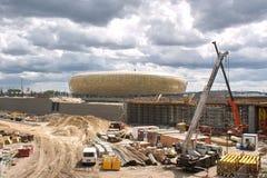 Het Baltische Stadion van de Arena. Stock Foto