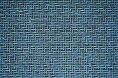 Het bamboe doorweeft (blauw) Royalty-vrije Stock Afbeelding