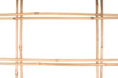 Het bamboe van het frame stock foto