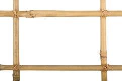 Het bamboe van het frame royalty-vrije stock afbeelding