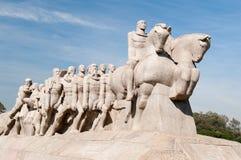 Het Bandeiras-Monument in Sao Paulo Brazil Royalty-vrije Stock Afbeeldingen