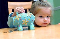 Het bank MiniatuurStijl Stock Foto