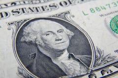 Het Bankbiljet van 1 Dollar Royalty-vrije Stock Foto's