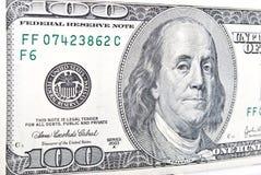 Het bankbiljet van dollars Stock Foto's