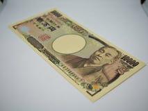 Het bankbiljet van het Japansetienduizendtal royalty-vrije stock afbeeldingen