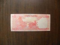Het bankbiljet van twintig Roepiesindia
