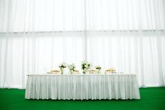 Het banket van het huwelijk Stock Foto