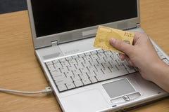 Het bankwezen van Internet #2 royalty-vrije stock afbeeldingen