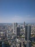 Het bankwezendistrict van Frankfurt Stock Fotografie