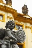 Het Barokke Beeldhouwwerk Royalty-vrije Stock Afbeeldingen