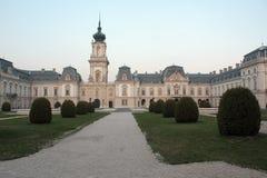 Het barokke kasteel Royalty-vrije Stock Afbeeldingen