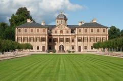 Het barokke kasteel van Rastatt dichtbij Baden Baden royalty-vrije stock afbeelding