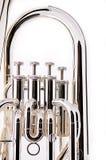 Het bas Euphonium van de Tuba Royalty-vrije Stock Fotografie