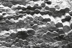 Het Basalt Coulmns van Reynisfjara-Strand, IJsland royalty-vrije stock afbeeldingen