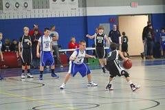 Het Basketbal van de club Stock Fotografie