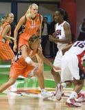 Het Basketbal van de het teamV.S. van vrouwen Stock Fotografie