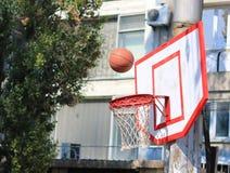 Het basketbal van de straat Royalty-vrije Stock Afbeeldingen