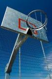 Het basketbal van de straat Stock Foto's