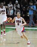 Het basketbal van vrouwen. UGMK versus de V.S. Royalty-vrije Stock Foto