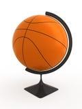 Het basketbal is wereld Royalty-vrije Stock Fotografie