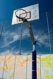 Het basketbalhof van de straat Royalty-vrije Stock Afbeeldingen