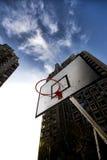 Het basketballijst van de straat Stock Afbeeldingen