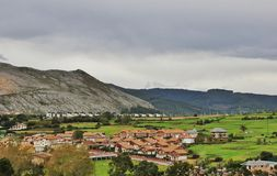 Het Baskische Land royalty-vrije stock afbeeldingen