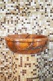 Het bassin gemaakte ââof steen van de was Stock Afbeelding