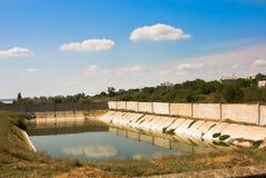 Het bassin van het water Stock Fotografie