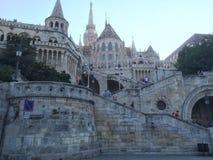 Het Bastion van Boedapest Hongarije Fishermans Royalty-vrije Stock Foto