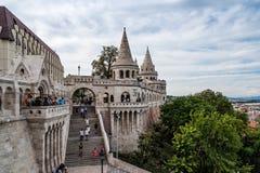 Het bastion van de visser in Boedapest Stock Afbeelding