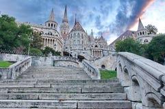 Het Bastion van de visser, Boedapest Stock Afbeelding