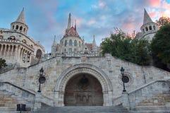 Het Bastion van de visser, Boedapest Stock Foto's