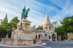 Het Bastion van de visser - Boedapest - Hongarije stock afbeelding