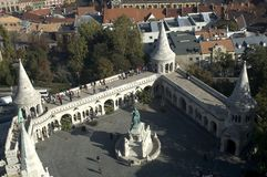 Het bastion van de Visser, Boedapest, Hongarije Stock Afbeeldingen