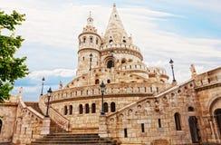 Het Bastion van de visser op het Kasteel Buda Royalty-vrije Stock Afbeeldingen