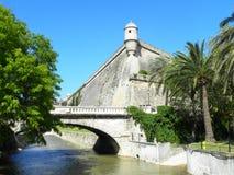 Het bastion van Majorca Royalty-vrije Stock Foto