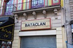 Het Bataclan-Theater royalty-vrije stock afbeeldingen
